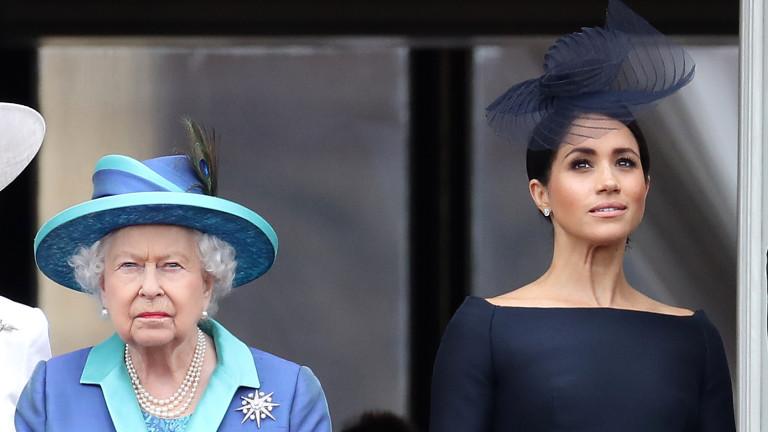 Кралицата за Меган и актьорството