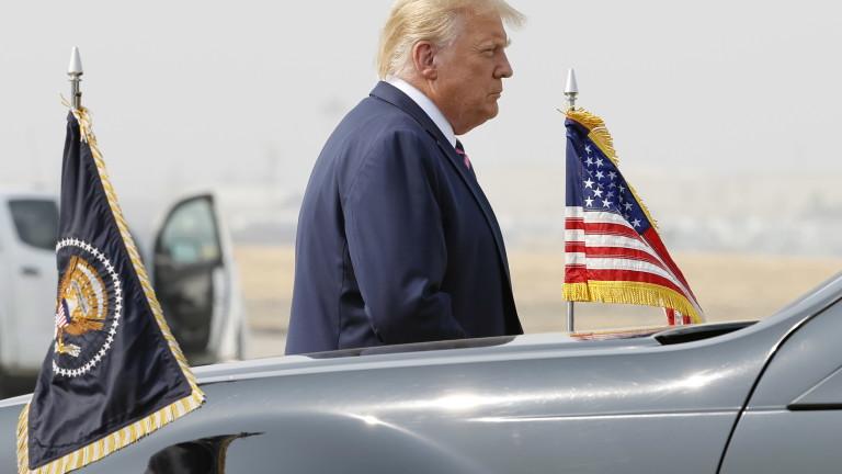 Тръмп омаловажи климатичните изменения и науката