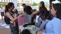 Нов протест срещу превръщането на изоставен строеж в София в детска болница