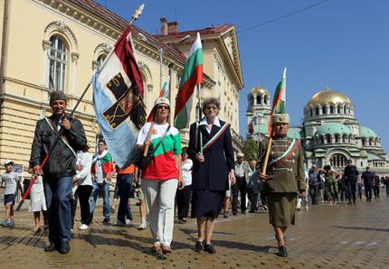 Показват знамената на Съединението на празника във Военноисторическия музей