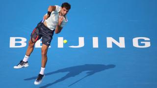 Григор Димитров защитава 1/2-финал на турнира от ATP 500 в Пекин