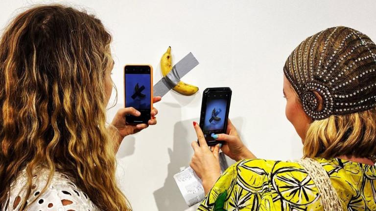Бананът, който струва 120 хиляди долара