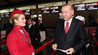 Ердоган открива новото летище на Истанбул