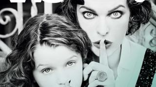 Мила Йовович с дъщеря си в атрактивна фотосесия (СНИМКИ)