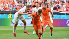Нидерландия - Чехия 0:2 (Развой на срещата по минути)