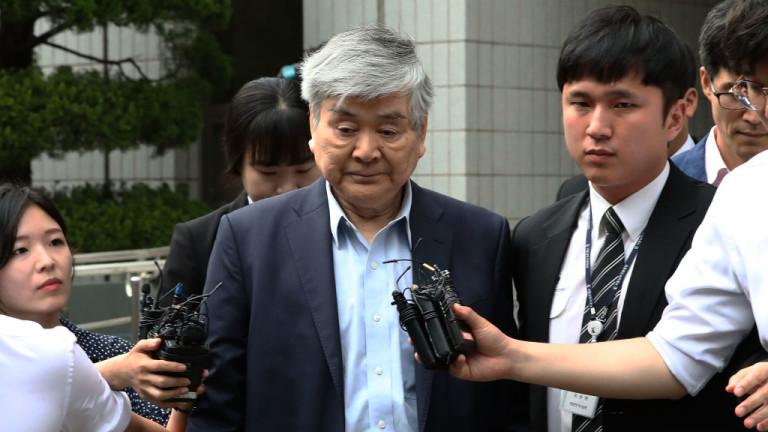 Снимка: Председателят на Korean Air почина седмици след като беше свален от поста и обвинен в нарушения