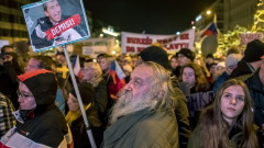 50 000 искат оставката на Бабиш в Прага