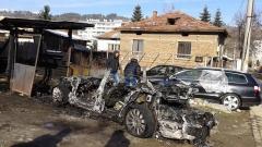 Изгоря колата на бизнесмен, изгубил семейство при атентат