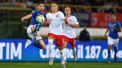 Италия - Полша, 1:1 (Развой на срещата по минути)