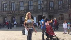 Малина се наслаждава на Амстердам (СНИМКИ)