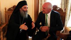 Политиците да помагат за духовните мостове, призова Главчев в Бигорския манастир