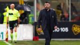 Дженаро Гатузо: Деликтен момент, но не може да се каже нищо срещу отбора