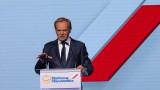 Експредседателят на Съвета на ЕС Туск оглави най-голямата опозиционна партия в Полша