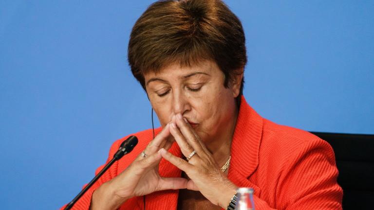 Започнаха призивите Кристалина Георгиева да подаде оставка като шеф на МВФ