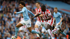 Манчестър Сити размаза Стоук, вкара 7 в правилната и 1 в грешната врата