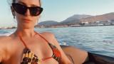 Румър Уилис, Деми Мур и морската им ваканция на Санторини