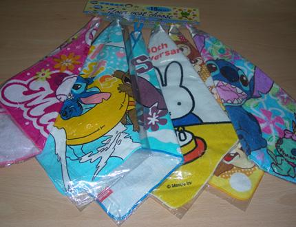 Засякоха опасни детски хавлиени кърпи