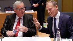 """Юнкер и Туск виждат """"историческа грешка"""" в отказа на ЕС за Албания и Македония"""