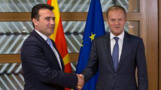 Заев увери Брюксел, че ще търси добросъседски отношения с България