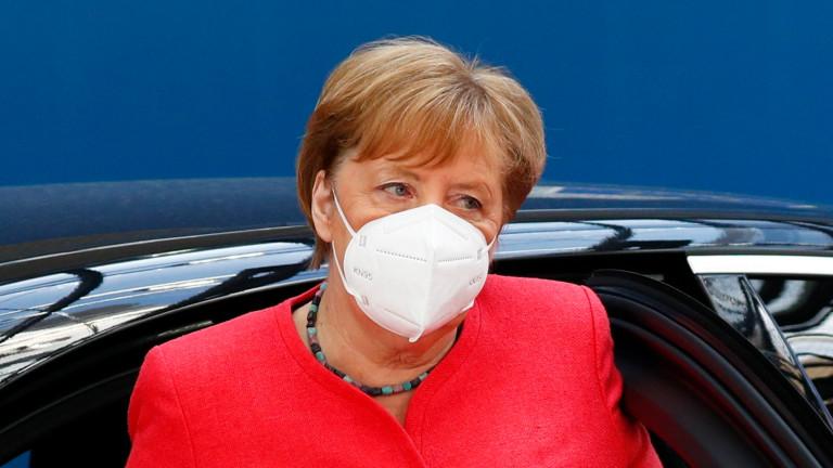 Меркел очаква 19 200 случая на зарзени с коронавирус ежедневно