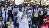 Хиляди искат освобождаването на Аун Сан Су Чжи в Мианмар