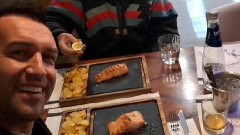 Крушарски: Мартин Камбуров се помисли за готвач