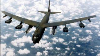 Стратегически бомбардировачи B-52 на САЩ симулирали удари срещу Русия