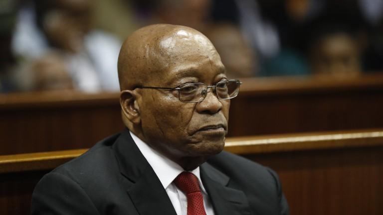 Бившият президент на ЮАР Зума обвинен в корупция