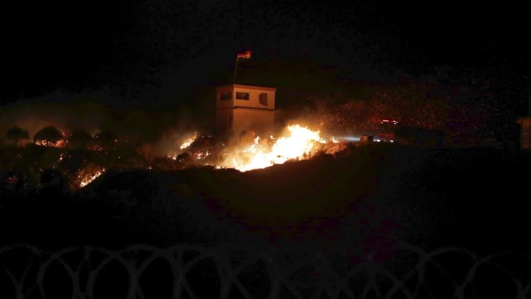 Армията на Израел удари позиции на сирийската армия до границата