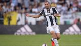 Ювентус без Киелини на финала за Купата на Италия