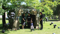 Палаткови протести в подкрепа на децата с увреждания в Бургас и Варна