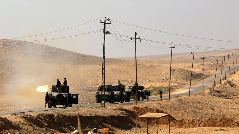 Шиитски паравоенни са превзели иракския град Баай от ИД