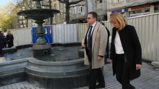 """Пускат отново фонтана на пл. """"Славейков"""""""