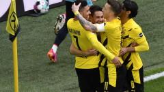 """Страхотен Джейдън Санчо съхрани """"жълто-черните"""" мечти за Шампионската лига"""