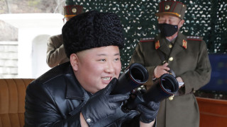 Ким Чен-ун пожела здраве на южнокорейците заради коронавируса
