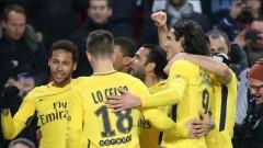 ПСЖ продължава наказателната си акция, Лион и Монако също с победи (Резултати от Лига 1)