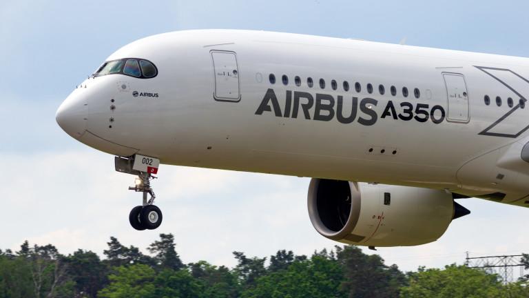 Airbus разкри въглеродния отпечатък на своите самолети, което ще помогне