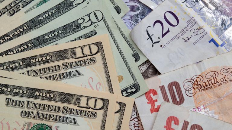 Паундът се срина до ново 2-годишно дъно срещу долара