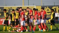 Ботев - ЦСКА 2:6 (Развой на срещата по минути)