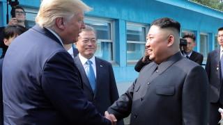 Тръмп изпрати съобщение за рождения ден на Ким Чен-ун по пратеник