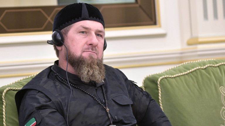 Лидерът на Чечения Рамзан Кадиров се появи на правителственасреща днес,