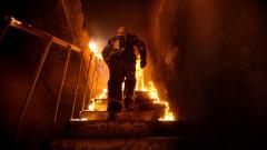Пожар изпепели апартамент в блок в Русе