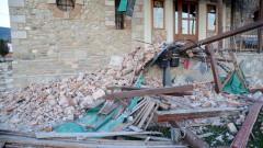 Земетресението в Гърция е причинило разрушения