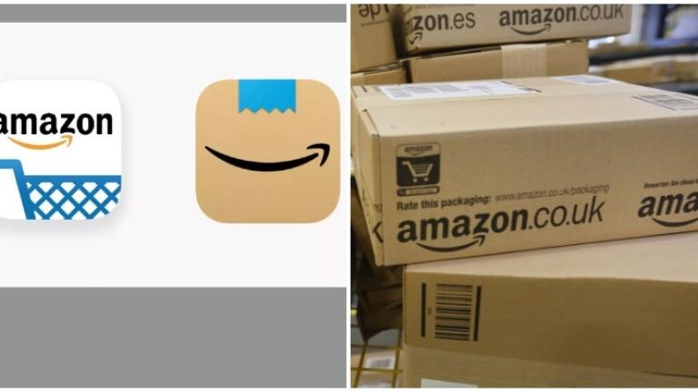 """Amazon смени логото на мобилното си приложение, защото """"напомня за лика на Хитлер"""""""