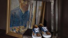 Марката, направила кецове с картини на Ван Гог