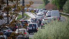 Катастрофа блокира Северната тангента на София