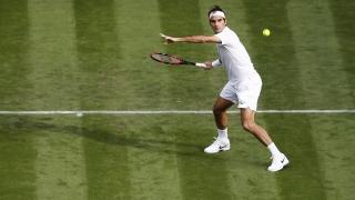 Федерер започна с рутинна победа на Уимбълдън