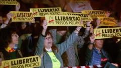 Хиляди каталунци на протест след арестите на лидерите им