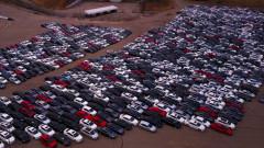 """Огромни """"гробища"""" за коли Volkswagen от Дизелгейт в САЩ (ВИДЕО)"""