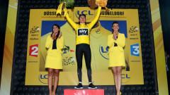 Герайнт Томас облече жълтата фланелка, Крис Фрум натрупа преднина пред конкурентите си